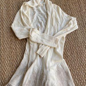 Ivory Cardigan Sweater from Anthropologie Sz XS